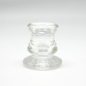 Glass Dinner Holder Small