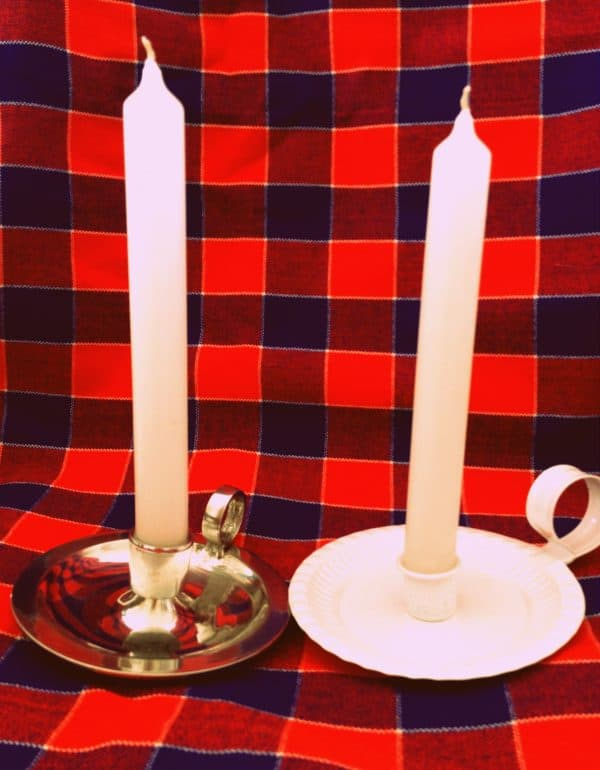 Nightingale Dinner Candleholders