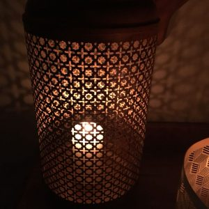 Metal Rattan Design Lantern