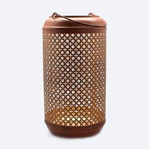 Metal Rattan Lantern