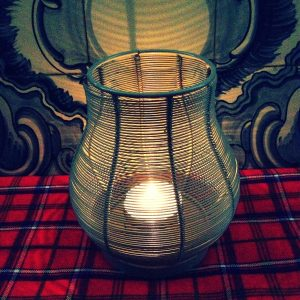 Metal Wire Lantern (India)