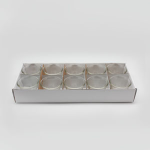 Qflair Glass Clear 10pk