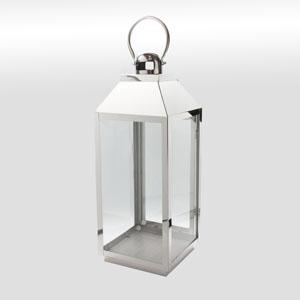 Stainless Steel Lantern 51cm
