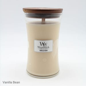 Wood Wick Large Jar Vanilla